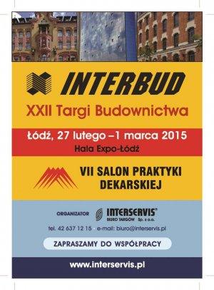 Wydarzenia i Nowości - Targi INTERBUD 2015: Budowa i remont bez obaw