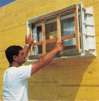 Fundamenty - Okna do szybkiego montażu
